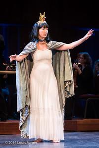 Soprano Kelly Ballou in Opera Lafayette's production of Rameau's Les Fêtes de l'Hymen et de l'Amour ou Les Dieux d'Égypte