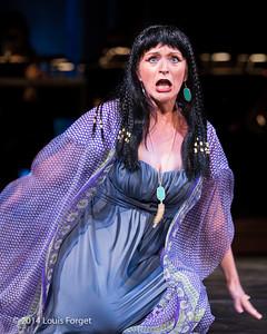 Soprano Ingrid Perruche in Opera Lafayette's production of Rameau's Les Fêtes de l'Hymen et de l'Amour ou Les Dieux d'Égypte