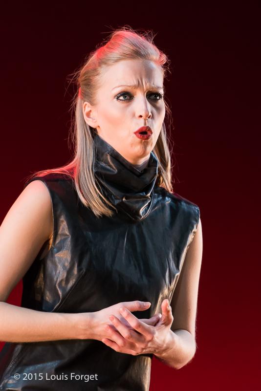 Mezzo-soprano Julia Dawson in Opera Lafayette's production of Vivaldi's Catone in Utica