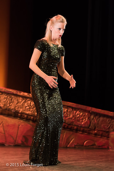 Mezzo-soprano Julia Dawson in Opera Lafayette's production of Vivaldi's Catone in Utica