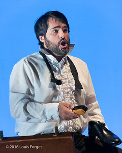 "Tenor Antonio Figueroa in Opera Lafayette's production ""Opera and the French Revolution"""