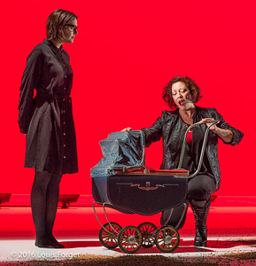 "(L. to R.) Sopranos Sophie Junker and  Nathalie Paulin in Opera Lafayette's production ""Opera and the French Revolution"""