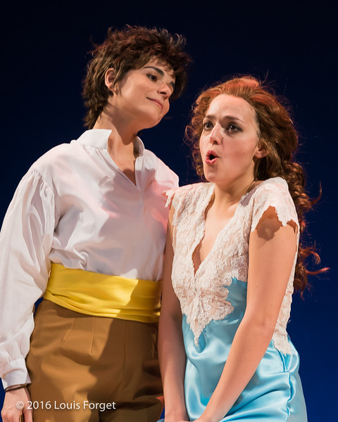 Chabrier-4362 - (L. to R.) Sopranos  Amel Brahim-Djelloul and Sophie Junker in Opera Lafayette's production of Chabrier's Une Éducation Manquée