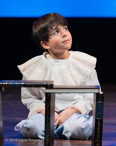 Chabrier-4050 - Child actor Sami Sidi-Boumedine in Opera Lafayette's production of Chabrier's Une Éducation Manquée