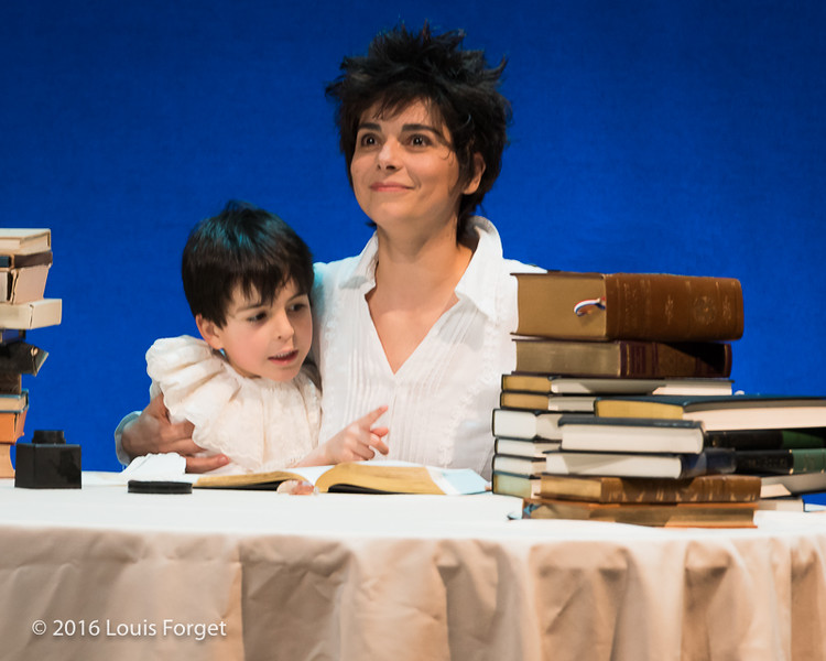 Chabrier-4156 - Soprano Amel Brahim-Djelloul with child actor Sami Sidi-Boumedine in Opera Lafayette's production of Chabrier's Une Éducation Manquée