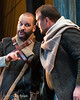 (L. to r.) Bass Tomislav Lavoie and tenor Keven Geddes in rehearsal of Opera Lafayette's production of Léonore, ou L'Amour conjugal by Pierre Gaveaux