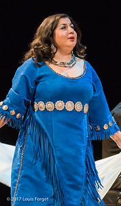 Soprano Sherezade Penthaki in rehearsal of Opera Lafayette's semi-staged presentation of Rameau's Les Indes Galantes (Part IV)