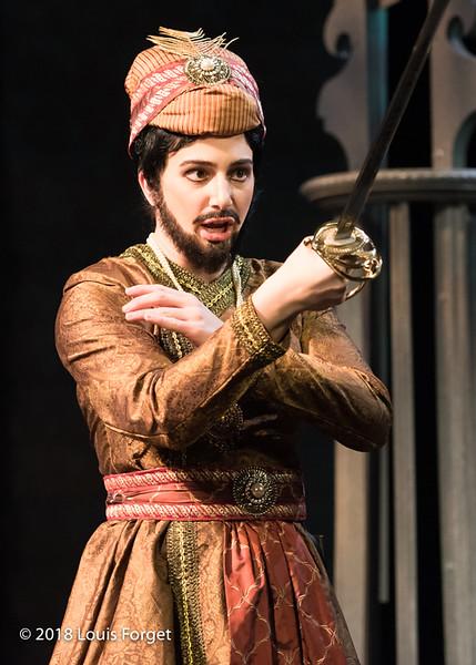 Mezzo-soprano Allegra de Vita in rehearsal of Opera Lafayette's production of Erminia by Alessandro Scarlatti