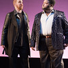 (L. to R.) Countertenors Eric Jurenas and John Holiday in Opera Lafayette's production of Vivaldi's Catone in Utica