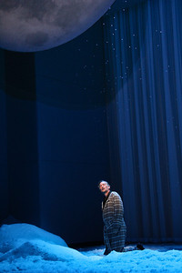 David Pittsinger as Eugene O'Neill in The Glimmerglass Festival's world-premiere production of A Blizzard On Marblehead Neck. Photo: William M. Brown.