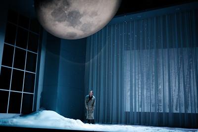 David Pittsinger as Eugene O'Neill in The Glimmerglass Festival's world-premiere production of A Blizzard On Marblehead Neck. Photo: Julieta Cervantes.