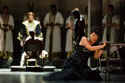 Daveda Karanas as Amneris in The Glimmerglass Festival's production of Aida. Photo: Karli Cadel/The Glimmerglass Festival