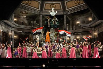 The Glimmerglass Festival production of Aida. Photo: William M. Brown/The Glimmerglass Festival.