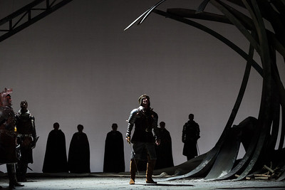 David Pittsinger as King Arthur in The Glimmerglass Festival's 2013 production of Camelot. Photo: Karli Cadel/The Glimmerglass Festival.