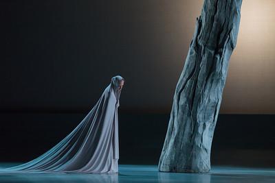 Ensemble member Andrea Beasom in The Glimmerglass Festival's production of Pergolesi's Stabat Mater. Photo: Karli Cadel/The Glimmerglass Festival.