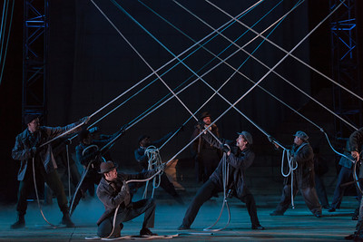 The chorus of The Glimmerglass Festival's 2013 production of The Flying Dutchman. Photo: Karli Cadel/The Glimmerglass Festival.