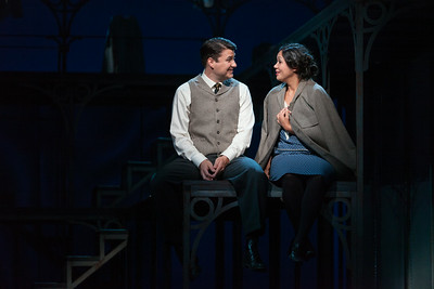 """Christian Bowers as Clyde Griffiths and Vanessa Isiguen as Roberta Alden in The Glimmerglass Festival's new production of Tobias Picker's """"An American Tragedy."""" Photo: Karli Cadel/The Glimmerglass Festival."""