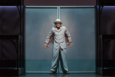 """Christian Bowers as Clyde Griffiths in The Glimmerglass Festival's new production of Tobias Picker's """"An American Tragedy."""" Photo: Karli Cadel/The Glimmerglass Festival."""