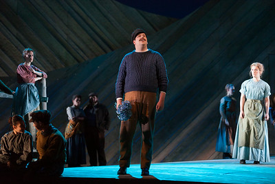 """Joe Shadday as Enoch Snow in The Glimmerglass Festival's 2014 production of Rodgers and Hammerstein's """"Carousel."""" Photo: Karli Cadel/The Glimmerglass Festival."""