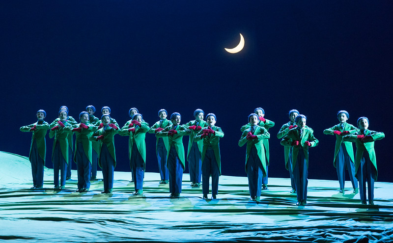 'A Midsummer Night's Dream' Opera performed by English National Opera at the London Coliseum, UK