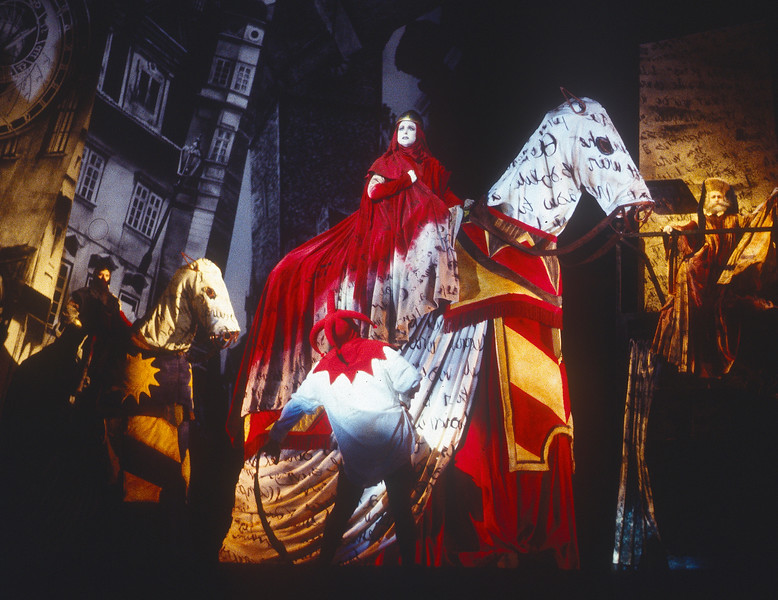 'The Adventures of Mr Broucek' Opera performed by English National Opera at the London Coliseum, UK 1993