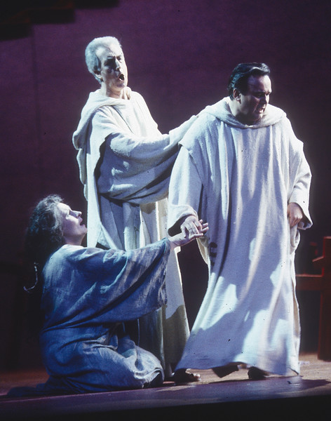 'The Force of Destiny' Opera performed by English National Opera at the London Coliseum, UK 1995