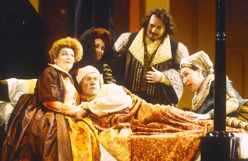 'Gianni Schicchi' Opera performed by English National Opera at London Coliseum, UK 1997
