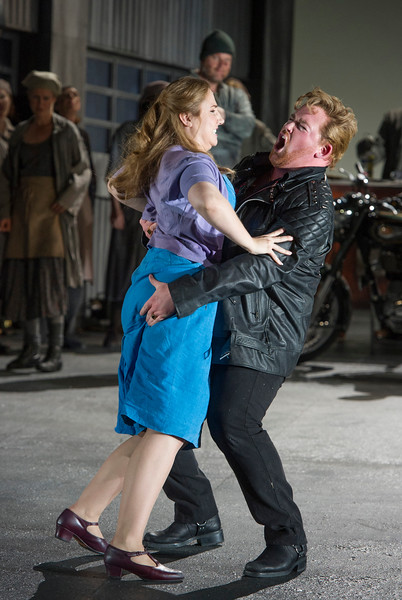 'Jenufa' Opera performed by English National Opera at the London Coliseum, UK