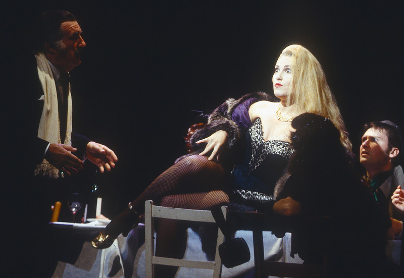 'La Boheme' Opera performed by English National Opera at the London Coliseum, UK 1993