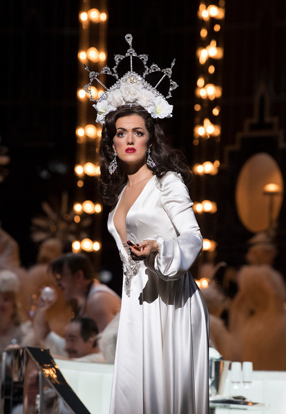 'La Traviata' Opera performed by English National Opera at the London Coliseum, UK