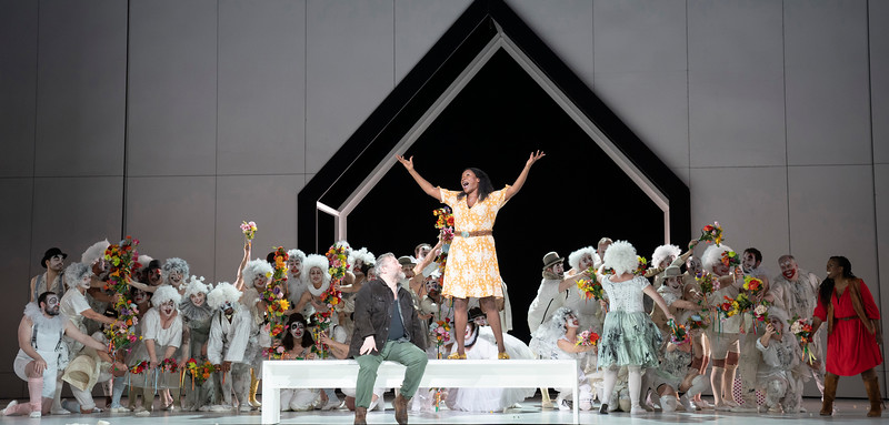 'Luisa Miller' Opera performed by English National Opera at the ondon Coliseum, UK