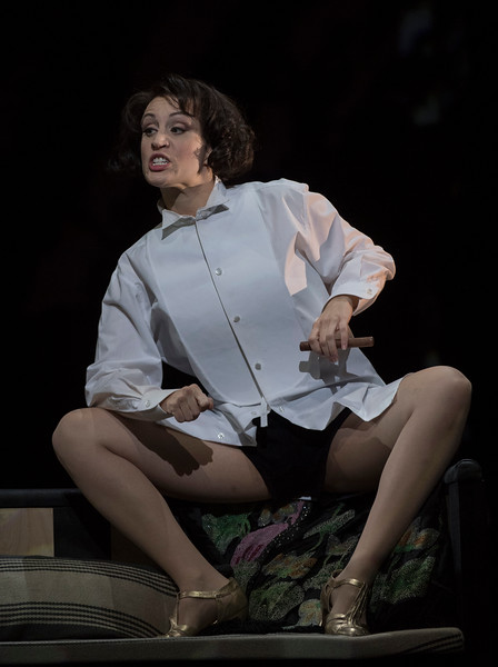 'Lulu' Opera by Alban Berg performed by English National Opera at the London Coliseum, UK