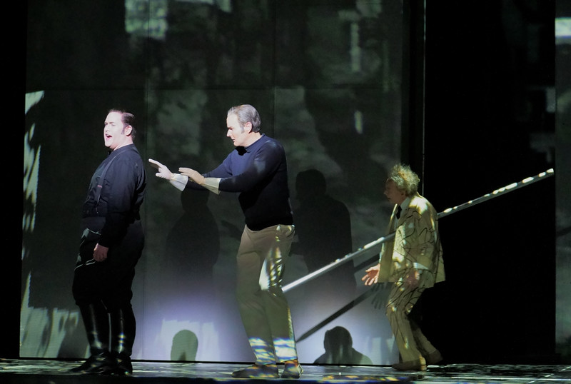 'Orphee' Opera by Philip Glass performed by English National Opera at the London Coliseum, UK