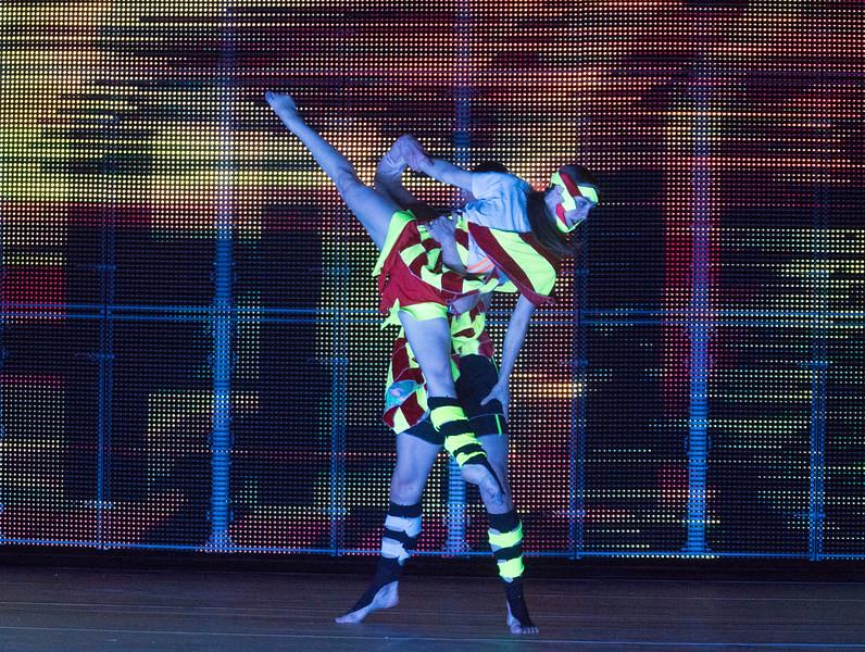 'Orpheus and Eurydice' Opera performed by English National Opera at the London Coliseum, UK