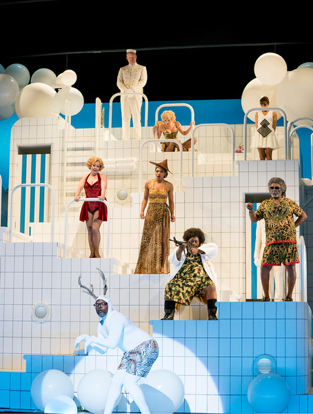 'Orpheus in the Underworld' Opera performed by English National Opera at the London Coliseum, UK