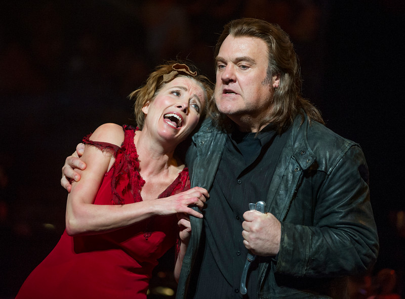 'Sweeney Todd' Musical performed by English National Opera at the London Coliseum, UK