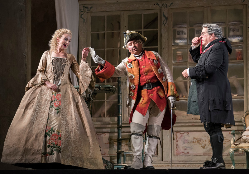 'The Barber of Seville' performed by the English National Opera at the London Coliseum, UK