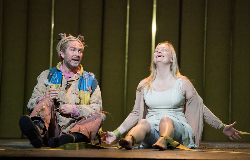 'The Magic Flute' Opera performed by English National Opera at the London Coliseum, UK