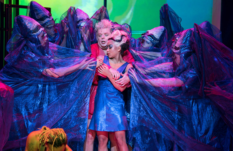 'The Mask of Orpheus' Opera performed by English National Opera at the London Coliseum, UK