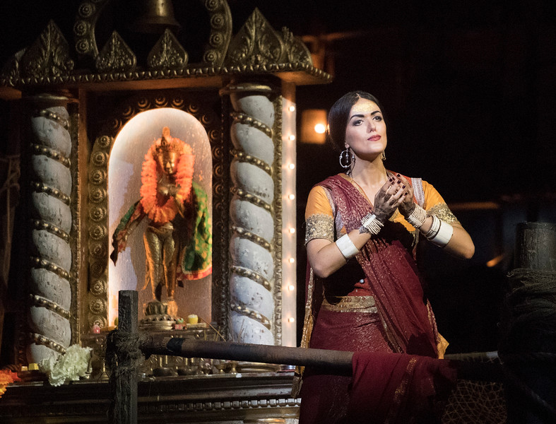 'The Pearlfishers' Opera performed by English National Opera at the London Coliseum, UK