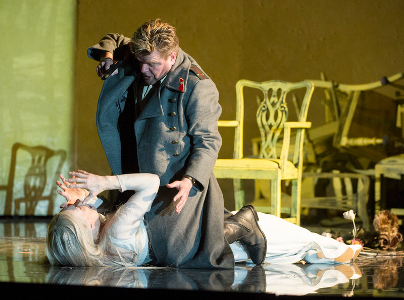 'The Queen of Spades' Opera performed by English National Opera at the London Coliseum, UK