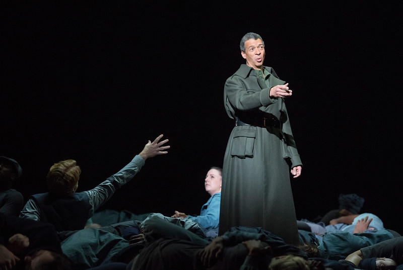 'War Requiem' by Benjamin Britten performed by English National Opera at the London Coliseum, UK
