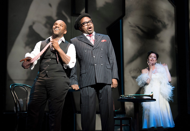 'Charlie Parker's Yardbird' Opera by Daniel Schnyder performed by English National Opera at Hackney Empire, London, UK