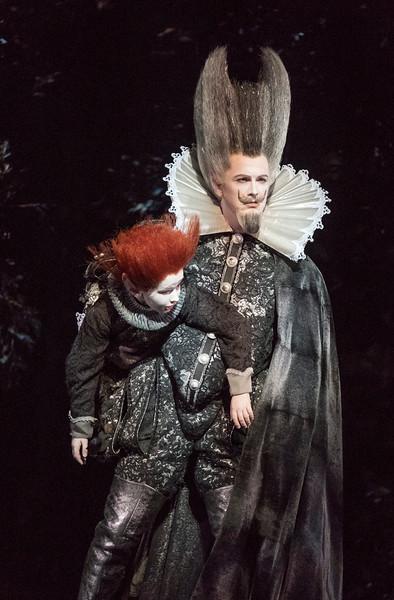 'A Midsummer Night's Dream' Opera by Benjamin Britten performed by Glyndebourne Opera, Sussex, UK