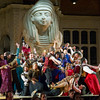 'Aida' Opera performed at Holland Park Opera, London UK