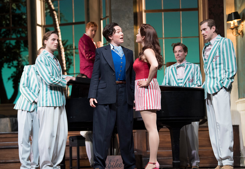 'Ariadne auf Naxos' Opera performed at Glyndebourne, E Sussex, UK