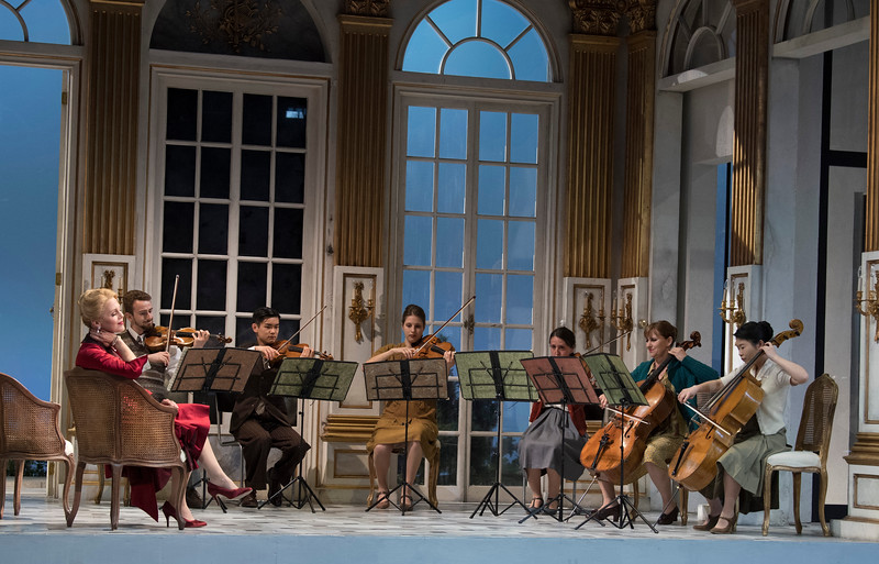 'Capriccio' Opera performed by Garsington Opera at Wormsley, UK