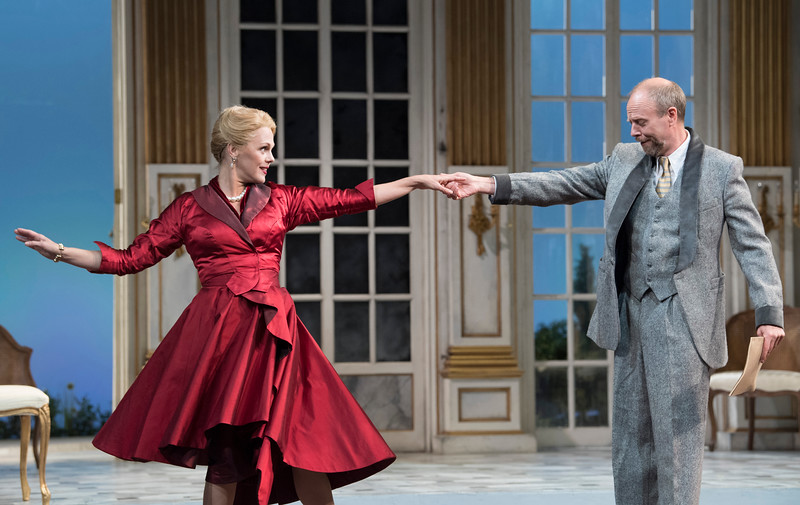 'Capriccio' Opera performed by Garsington Opera at Wormsley, UK