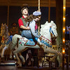 'Carousel' Musical performed by Opera North at the Grand Theatre, Leeds, UK