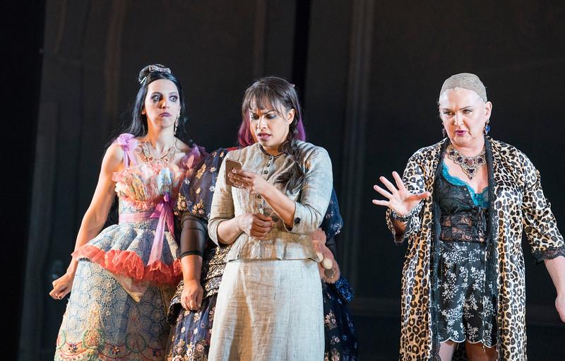 'Cendrillon' Opera performed by Glyndebourne Opera, East Sussex, UK